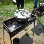 まちやまひろば6月  小麦収穫&ダッチオーブンで本格ナンカレー ①6月9日 ②6月10日